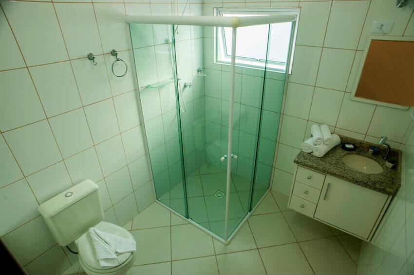 Prédio Branco - Banheiro standard/ duplex