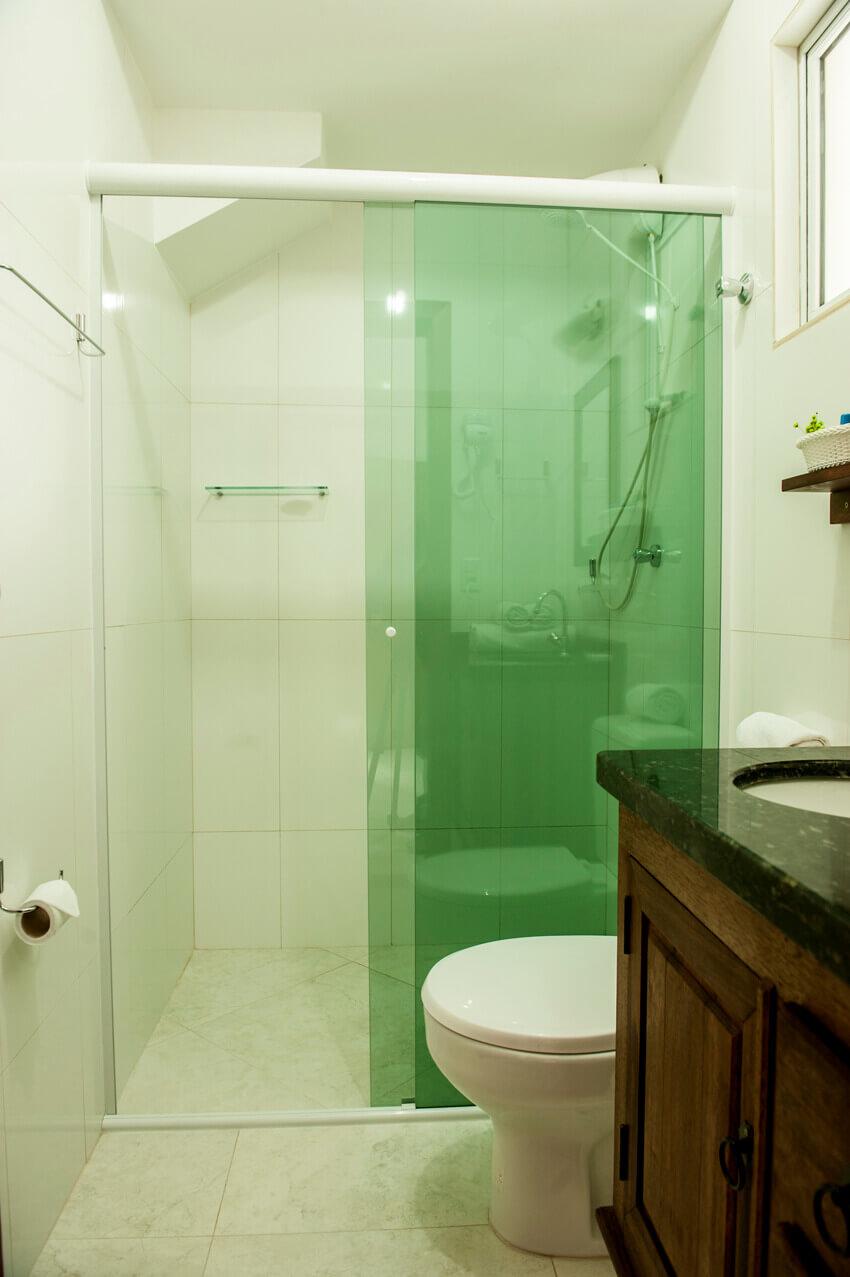 Prédio Verde - Banheiro studio