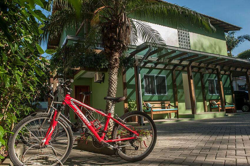 Prédio Verde - Bicicletario
