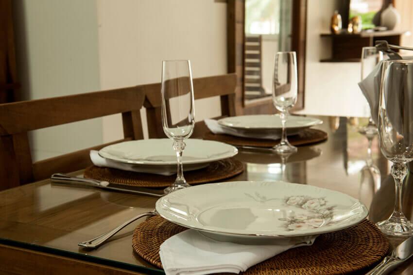 Prédio Verde - Cozinha do apto duplex luxo