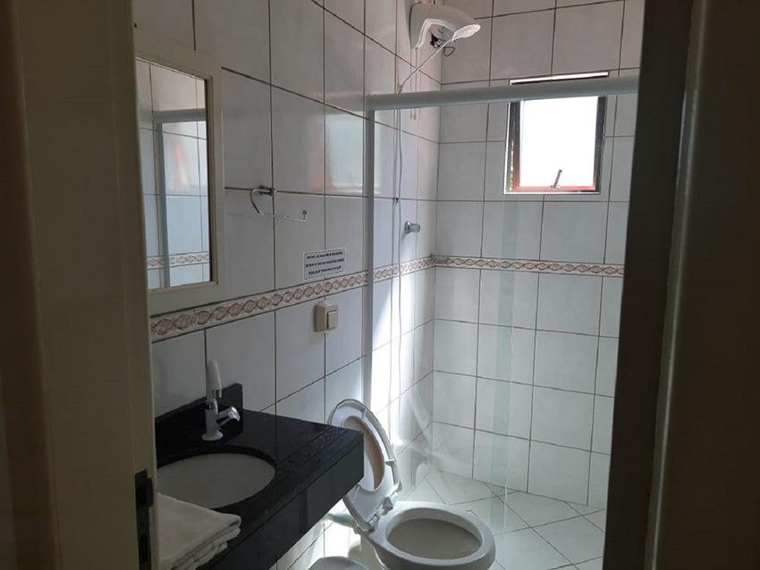 Prédio Vermelho - Banheiro